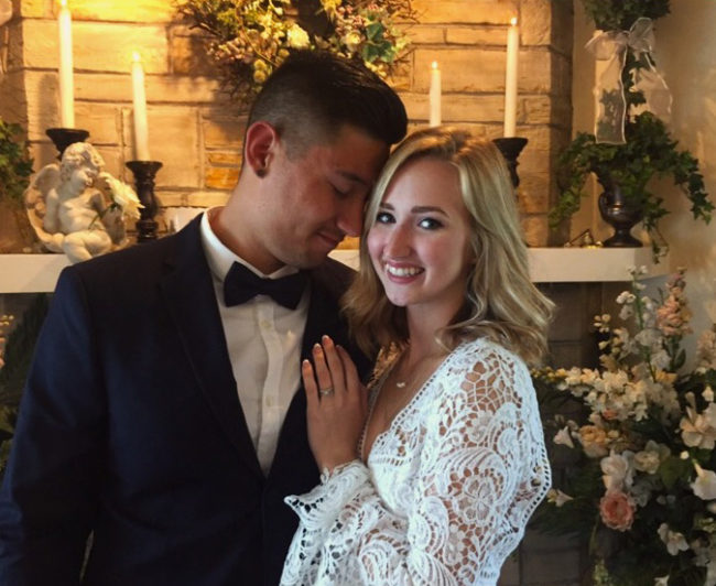 married in the chapel